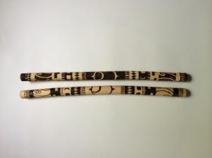 Stained Rythm Sticks 1