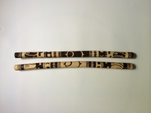 Stained Rythm Sticks 1